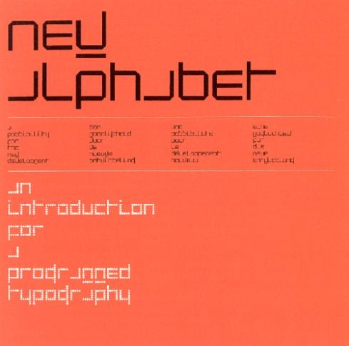 Wim Crouwel New Alphabet