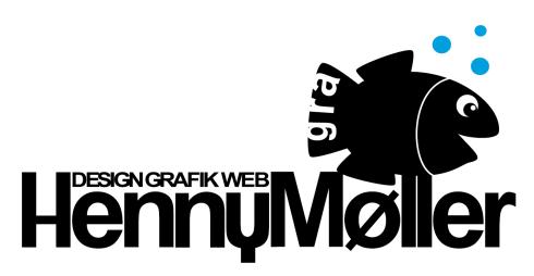 Henny Møller::GRAFISK Logo