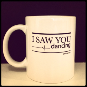 I saw you dancing